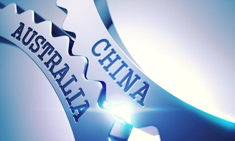China Australien Zahnrad