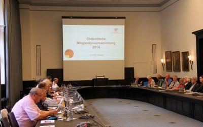 Mitgliederversammlung + Vortrag Dr. Schaefer 2014